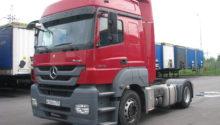 В продаже седельный тягач Mercedes-Benz Axor 1840 LS 2011, 401л.с. МКПП