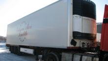 рефрижератор Krone 2009, оси SAF-Integral(короба), дисковые тормоза, CV-1850
