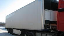 рефрижератор-тушевоз Krone 2009, оси BPW Eco Plus, дисковые тормоза, CV-1850