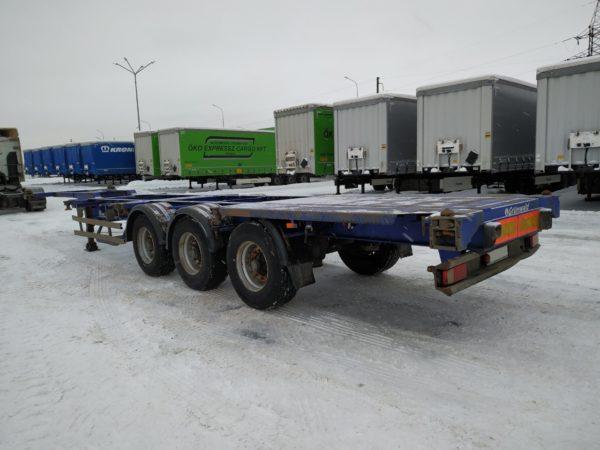 Полуприцеп контейнеровоз grunwald 2013 года