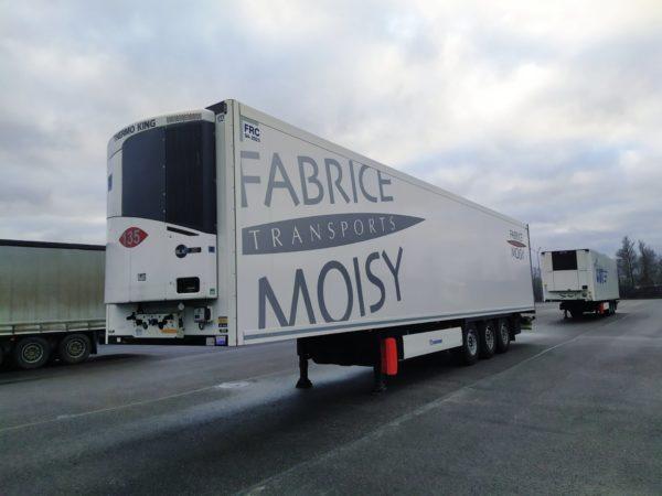 полуприцеп рефрижератор krone 2017 года, оси krone axle trailer, дисковые тормоза, tk-slx300i
