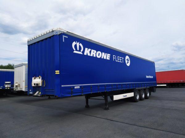 Полуприцеп шторный Krone SD 2018, оси bpw, барабанные тормоза, 41000кг