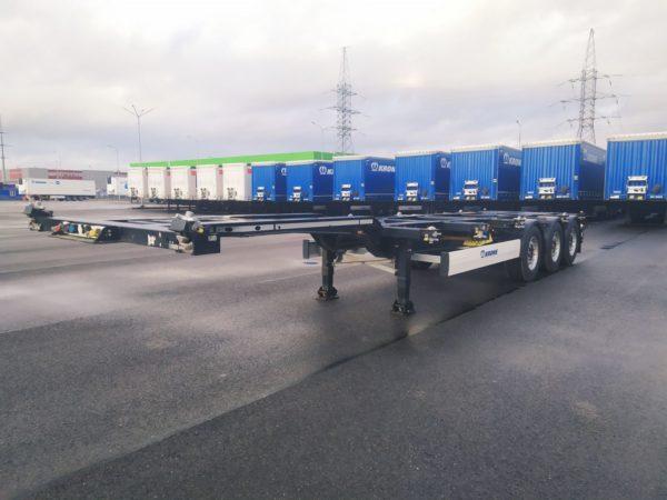 Полуприцеп контейнеровоз Krone Box Liner 2018