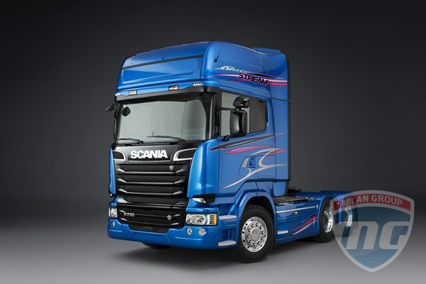 Blue Stream - лимитированная версия легендарной Scania Streamline
