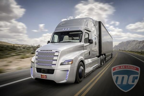 Беспилотный Freightliner успешно дебютировал в Неваде