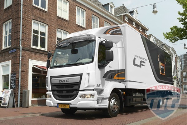 Европейские клиенты выбирают грузовики DAF