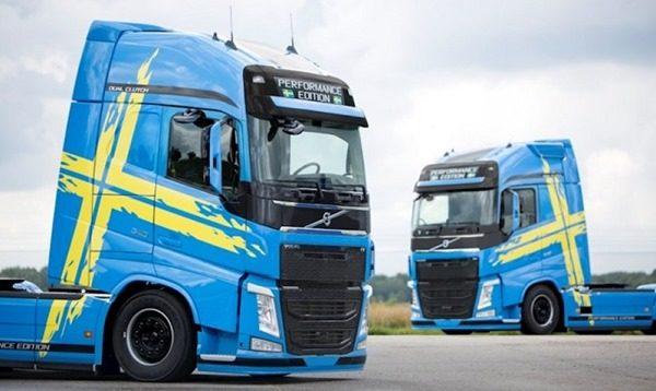 Представлена юбилейная модификация тягача Volvo FH