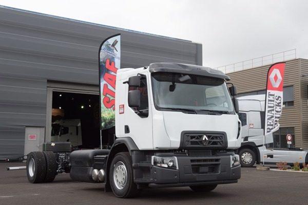 Renault представила газовый грузовик D Wide CNG