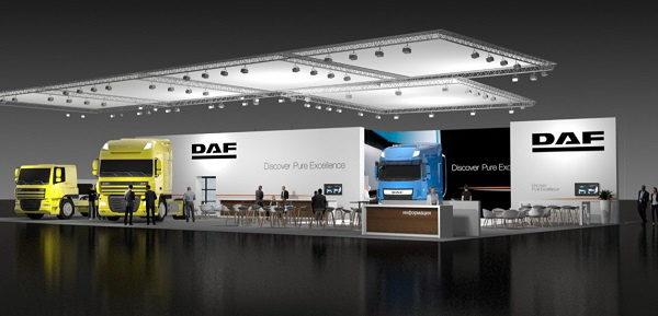 Компания DAF представит новый грузовик на выставке COMTRANS 2017