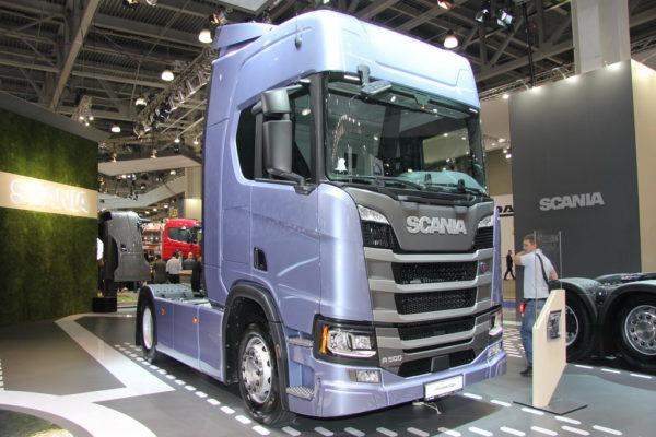 В России представили грузовики Scania нового поколения
