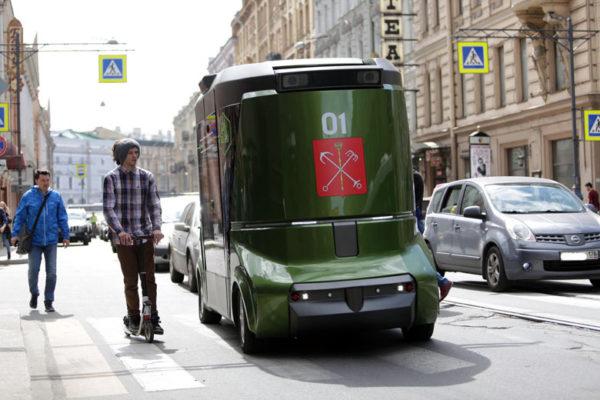 В разработке: концептуальный беспилотный грузовик MatrЕshka