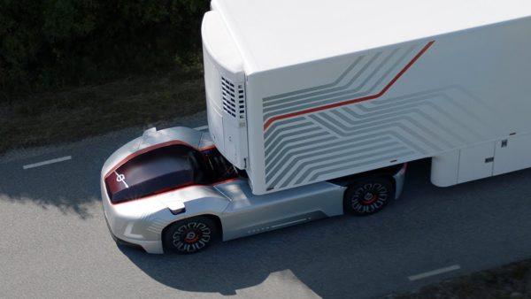 Volvo представила автономный тягач без кабины