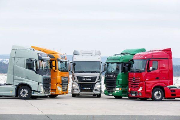 На российском рынке грузовиков наметился спад