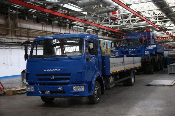 КАМАЗ начнет тестирование беспилотных машин на заводской территории