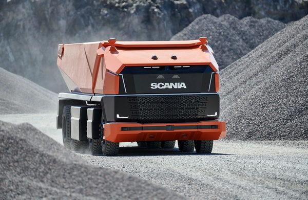 Scania AXL: концептуальный беспилотный самосвал