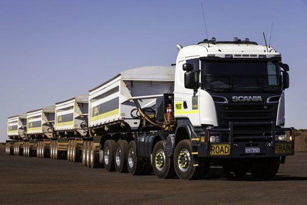 Scania представила самый большой автопоезд