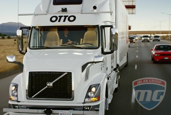 В США автономный грузовик доставил груз через пол штата