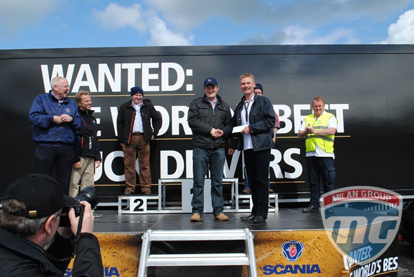 Scania наградили лучшего молодого водителя 2012 года