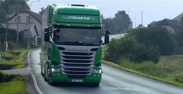 Scania R 450 Highline признан самым экологичным грузовиком года
