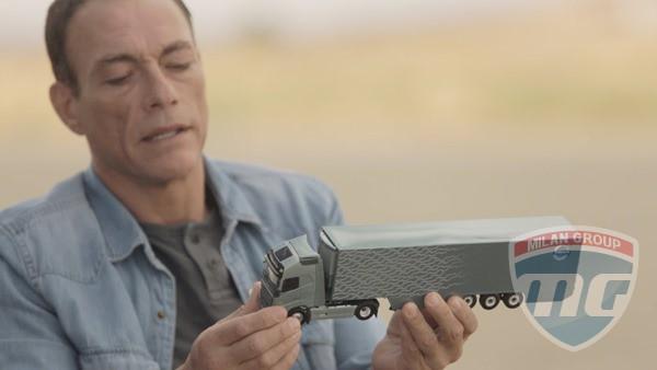 Ван Дамм в новом рекламном ролике Volvo!