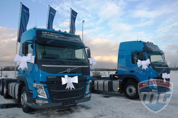 Первые тягачи Volvo FM 6X4 поставлены в Россию