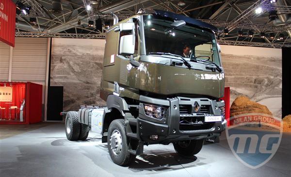 Грузовики Renault K получили инновационную трансмиссию