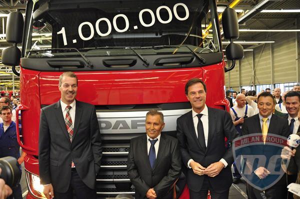 DAF выпустила свой миллионный грузовик