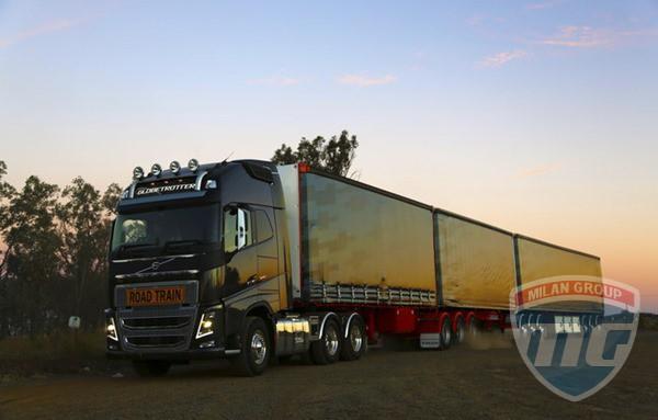 Volvo FH16 покоряет Австралию!