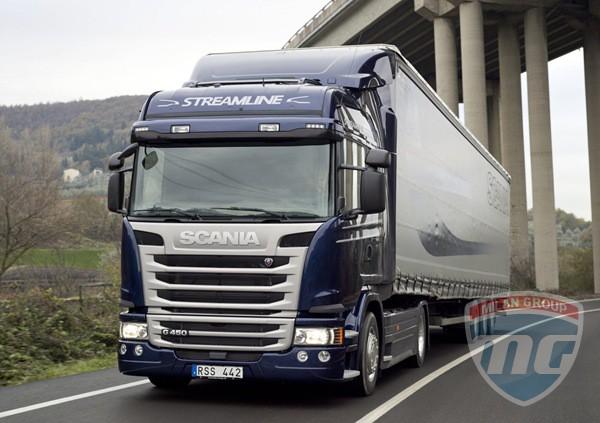 Подробности о грузовиках Scania Streamline
