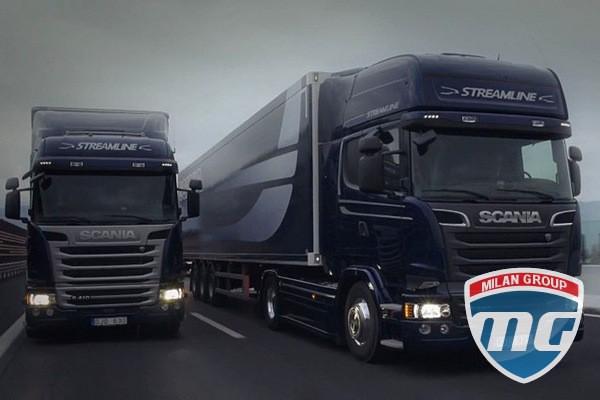 Scania представила новые модели грузовиков Streamline