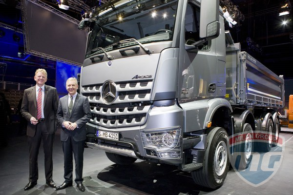 Mercedes Benz на выставке Agritechnica 2013!