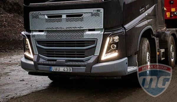 Volvo представили усиленный бампер для модели FH