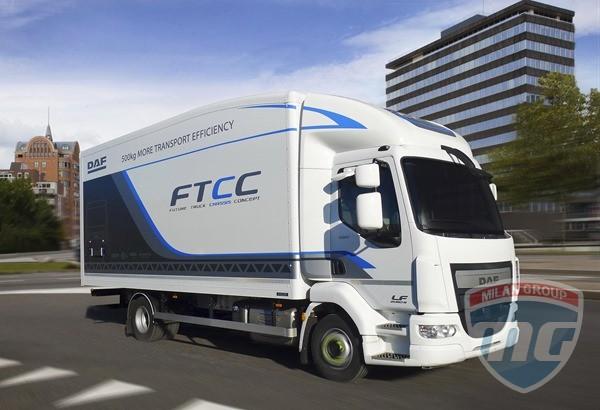 DAF представили сверхлегкий грузовик FTCC