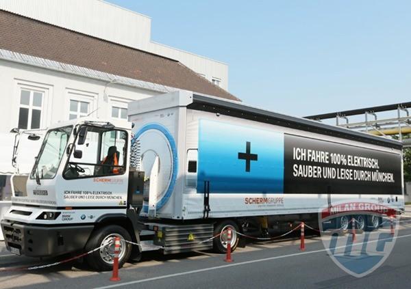 На дорогах Мюнхена появится электрический грузовик BMW