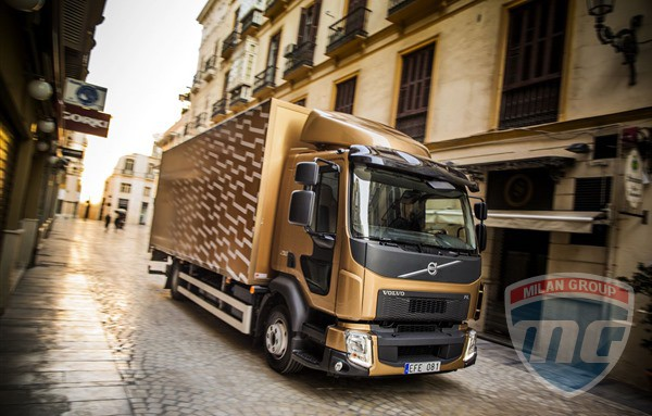 Новые грузовики Volvo FE и FL стали лучше для езды по городу!