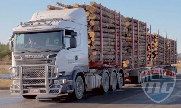 Scania тестирует самый тяжелый грузовик Европы