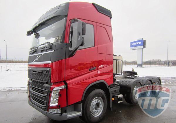 Первый Volvo FH 8x4 Tridem доставлен российскому заказчику!