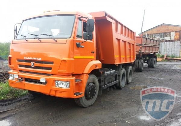 Российский рынок грузовиков упал на 42%