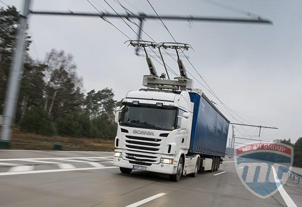 Scania протестирует электрические грузовики в Швеции