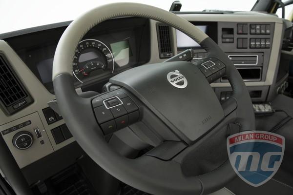Приложение Dynafleet от Volvo Trucks