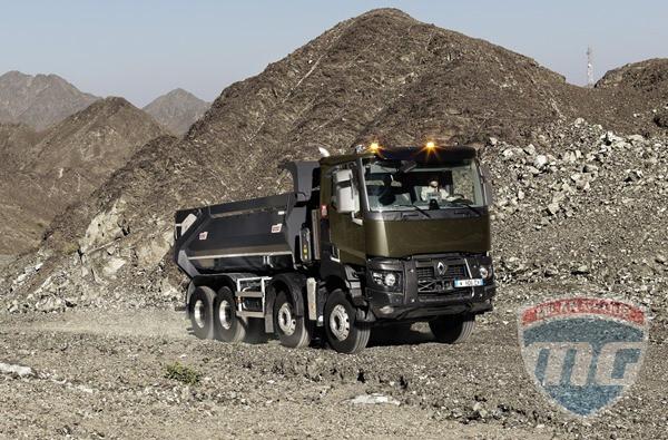 Немного о обновлённых строительных грузовиках Renault