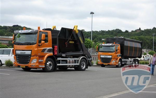 В Бельгии состоялась презентация новых грузовиков DAF