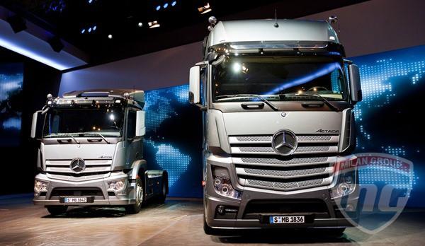 Mercedes-Benz Actros завоевал престижную награду