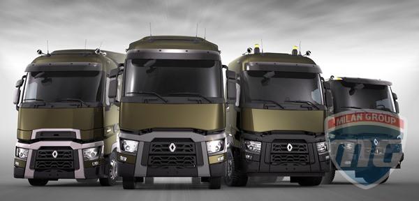 Renault презентовала новую линейку грузовиков в Москве