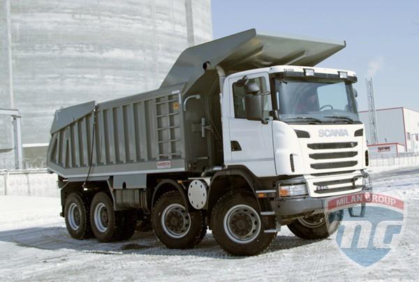 Scania продали свой первый в России самосвал G440