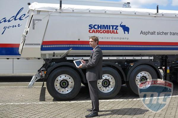 Schmitz Cargobull представили приложение для смартфонов