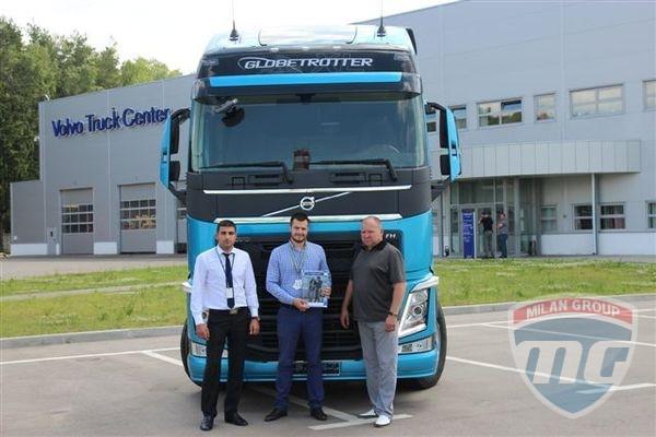 В России продан первый тягач Volvo FH