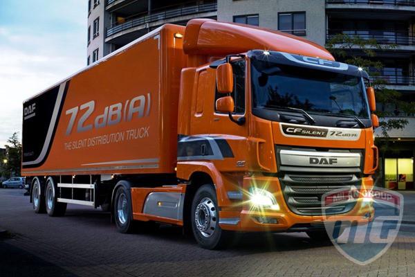 DAF работает над бесшумным грузовиком