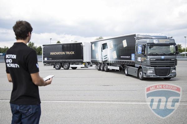 Немцы из ZF представили свой новый грузовик