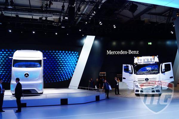 Future Truck 2025 представлен на выставке IAA-2014